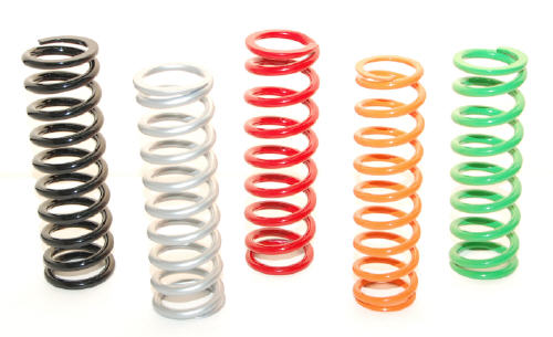 shock Spring with matching Spring rate /& gt Select Kawasaki KX 85 # Fork Springs